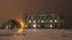 Old Fort Niagara at 13 degrees on the ghost walk.