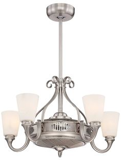 Borea Air-Ionizing Fan d'Lier In Satin Nickel | House of Antique Hardware