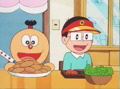 Kiteretsu and Korosuke dinner by Jee-Youn-Lim