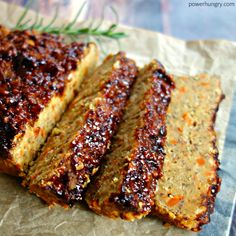 A stellar lentil loaf, made with ease and humble ingredients and packed with flavor. It is vegan, grain-free, high in protein grams) and low in calories per jumbo slice, too! Lentil Loaf Vegan, Chickpea Loaf Recipe, Vegan Loaf, Meatless Meatloaf, Vegan Ground Beef, Whole Food Recipes, Cooking Recipes, Dinner Recipes, Free Recipes