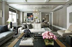Luxury Living Room EAST 77TH by Weitzman Halpern