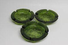 Anchor Hocking Avocado Green Soreno Glass by BusyOnBlackwood, $25.00