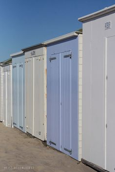 Zeeland, The Netherlands, beach huts Boom Beach, Beach Bum, Cool Sheds, Bleu Pale, I Love The Beach, Am Meer, Beach Crafts, Coastal Living, Beautiful Beaches