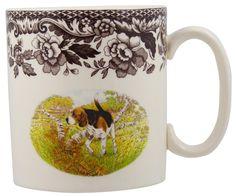 Spode Woodland Beagle Mug #doglovers