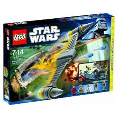 LEGO Star Wars 7877: Naboo Starfighter: Amazon.co.uk: Toys & Games