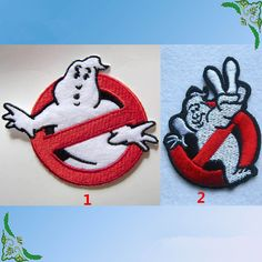 New to craftapplique on Etsy: Ghost Busters Ghostbusters patch Cartoon cute patches patch Embroidery patch Embroidered patch iron on patch sew on patch A137 (2.50 USD)