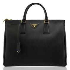 Prada's Saffiano Lux Double Zip Tote really is the absolute most perfect every-woman-should-have-it kind of bag.