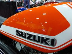 Suzuki Bikes, Suzuki Motorcycle, Motorcycle Gear, Vintage Bikes, Vintage Motorcycles, Xt 600 Scrambler, Yamaha Rx100, Sport Motorcycles, Motorcycle Decals