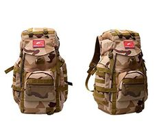 JIN Outdoor Camo backpack hiking bag tactical Camo Pack backpack army fan pack * Insider's special review you can't miss. Read more  : Backpacking gear