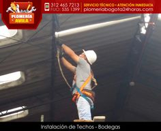 Instalación de techos para bodegas