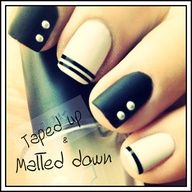 love these! #nails #nail art www.fiditforweddings.com