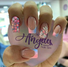 Glamour Nails, Classy Nails, Stylish Nails, Simple Nails, Fancy Nail Art, Fancy Nails, Pretty Nails, French Acrylic Nails, Cute Acrylic Nails