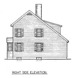 Saltbox house plans free Home photo style