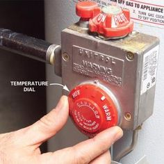 How to Adjust Hot Water Heater Temperature:    Be safe—keep the dial at 120 degrees F