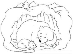 Hibernating Bear Coloring Pages Free Check More At Http Prinzewilson Com Hibernating Bear Animal Coloring Pages Bear Coloring Pages Polar Bear Coloring Page