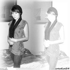 black & white...reflection....
