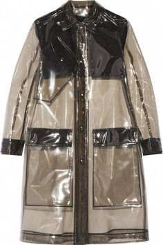 11 raincoats to beat April Showers in style. Black Rain Jacket, Rain Jacket Women, Pvc Raincoat, Hooded Raincoat, Plastic Raincoat, Black Raincoat, Plastic Pants, Raincoats For Women, Jackets For Women