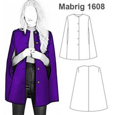 Exceptional 10 Sewing projects are offered on our site. look at this and you wo Tesettür Tunik Modelleri 2020 Diy Clothing, Sewing Clothes, Clothing Patterns, Dress Patterns, Sewing Patterns, Fashion Sewing, Diy Fashion, Cape Pattern, Diy Kleidung