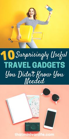 This list of 10 useful travel gadgets has everything you'll want to add to your list of travel essentials. Before you finish your packing list, you might want to read this! #traveltips #travelhacks #travelessentials Winter Travel Outfit, Travel Outfits, Summer Travel, Road Trip With Kids, Travel With Kids, Family Travel, Budget Travel, Travel Tips, Travel Destinations