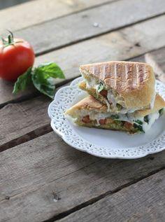Caprese Panini - FoodBabbles.com