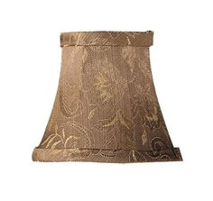 Chandelier Shade Champagne Damask Silk Bell Clip Shade (S267). Champagne Damask Silk Bell Clip Shade - Chandelier Shade - 3 T x 5 B x 4.5 S. Product Specifications Collection Name andnbsp Chandelier Shade Prduct Features andnbsp Champagne Damask Silk Bell Clip Shade Dimensions andnbsp 3.. . See More Lighting Shades at http://www.ourgreatshop.com/Lighting-Shades-C1006.aspx