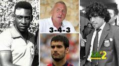 صورة: أفضل 11 لاعبا في التاريخ من وجهة نظر كرويف #kora #كورة #koora