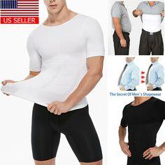 f0c6a517c4a Men Shapewear Modeling Underwear Waist Trainer Corrective Posture Vest  Corset US  fashion  clothing