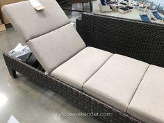 Agio International Santa Ana Woven Chaise Lounger at Costco