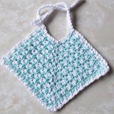 crochet patterns baby bibs | FREE BABY BIB CROCHET PATTERN | Crochet and Knitting Patterns