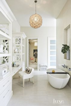 Top 10 Most Popular Luxe Bathrooms from 2015 | LuxeDaily - Design Insight from the Editors of Luxe Interiors + Design