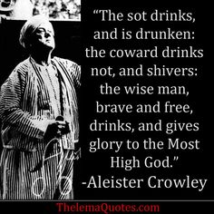 Quotes by Aleister Crowley | Quotes & Inspirational Words from Aleister Crowley/Master Therion ...