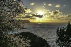 Precioso atardeces desde Ses Animes en Mallorca