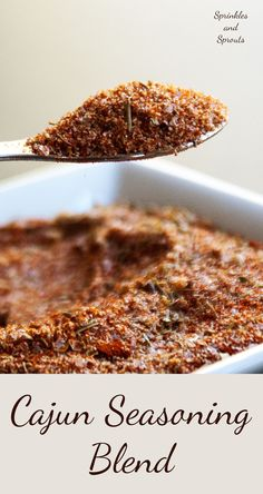 Cajun Seasoning Blend. A great recipe for making your own cajun slice blend, free from preservatives and with total control over the salt and spice level.