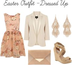 Easter Outfit Dressed Up