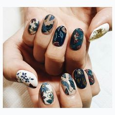 Nail Art Designs In Every Color And Style – Your Beautiful Nails Cute Nails, Pretty Nails, Hair And Nails, My Nails, Fall Nails, Nail Art Vernis, Nailart, Manicure And Pedicure, Manicure Ideas
