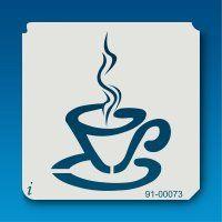 91-00073 Tea Cup & Saucer
