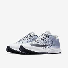 72 / Nike Air Zoom Elite 9 Men's Running Shoe - White/Wolf Grey