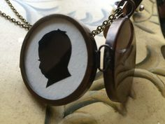 locket silhouettes