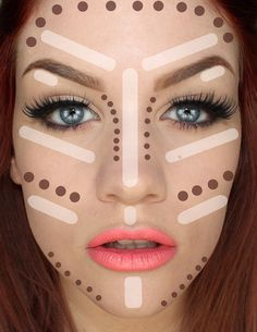 How To Highlight And Contour Like A Pro, featuring the fabulous face of Samantha Ravndahl, of Batalash Beauty.