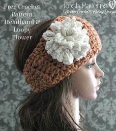 crochet headband free pattern