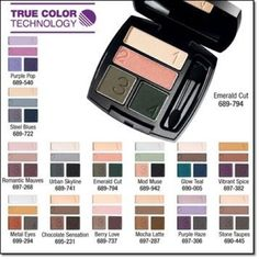 Avon True Color Eyeshadow Quads, I love this stuff. Let me know if you want to try it. youravon.com/kimbrown