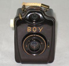 Vintage RARE Bilora Bakelite Boy 127 Box Camera Germany EXC Cosmetic Working   eBay