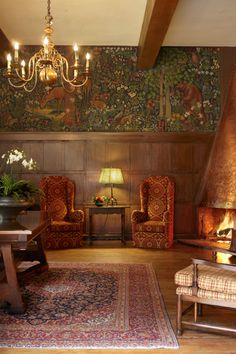 Great National Park Lodges: The Ahwahnee, Yosemite National Park, CA Hawaii Volcanoes National Park, Volcano National Park, Yellowstone National Park, National Park Lodges, National Parks, Yosemite Falls, Lodge Style, Hotels And Resorts, Art Nouveau