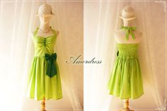 Bright Green Polka Dot Colorful Party Dress ..SIZE M.. // Bridesmaid // Cocktail // Holiday // Birthday // Vintage Inspired Timeless Dress