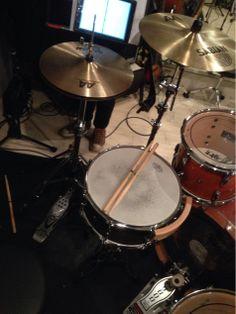 Today's rehearsal.