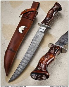 .The blade on this is a bit longer than I like but Love the handle design and form.