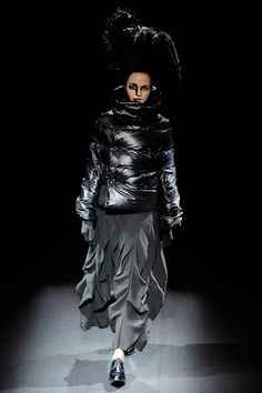 After working for Comme des Garçons for eight years, Japanese designer Junya Watanabe established his own womenswear line under the Comme des Garçons umbrella. The cutting-edge, critically acclaimed designs, which are often bolstered by some technical innovation—waterproofing, glow-in-the-dark fiber— are not for the conservative or the thrifty; most pieces are priced over $1,000.