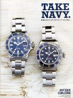 Rolex Submariner / Tudor Submariner