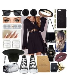 """""""Stone Cold - Demi Lovato"""" by jvc-nike ❤ liked on Polyvore featuring Missguided, Herbivore, Dogeared, Converse, NLY Accessories, Marc Jacobs, sweet deluxe, Burberry, GiGi New York and Beats by Dr. Dre"""