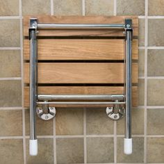 teak folding shower seat with legs